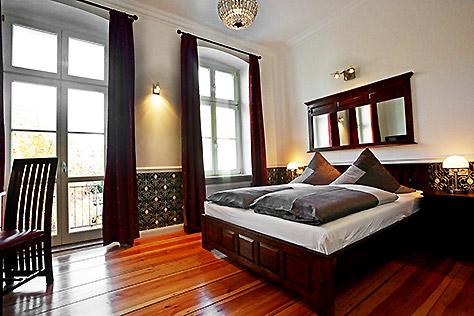 Hotel Berlin Apartment Schlafzimmer