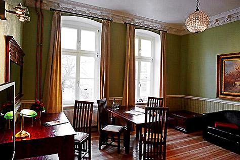 Hotel Berlin Apartment Sitzecke