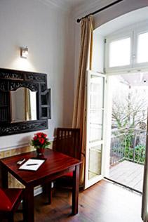 Hotel Berlin Doppel-Zimmer Balkon