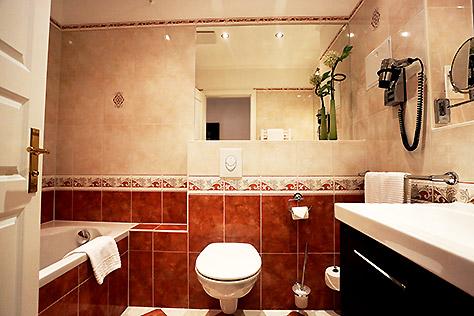 Hotel Berlin Standard Zimmer eigenes WC