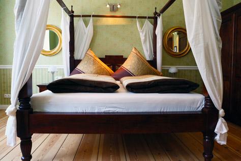 Hotel Zimmer Berlin Doppelbett