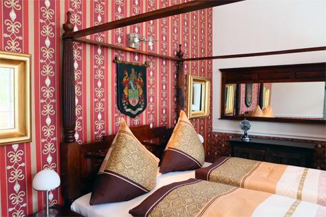Hotel Zimmer Berlin Bett