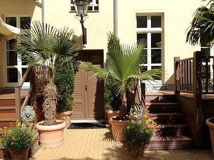 Apartment Hotel Berlin GARDEN LIVING - Innenhofansicht