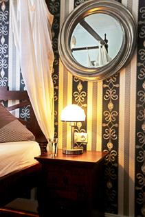 Apartment Hotel Berlin GARDEN LIVING - Aufenthaltsbereich mit TV